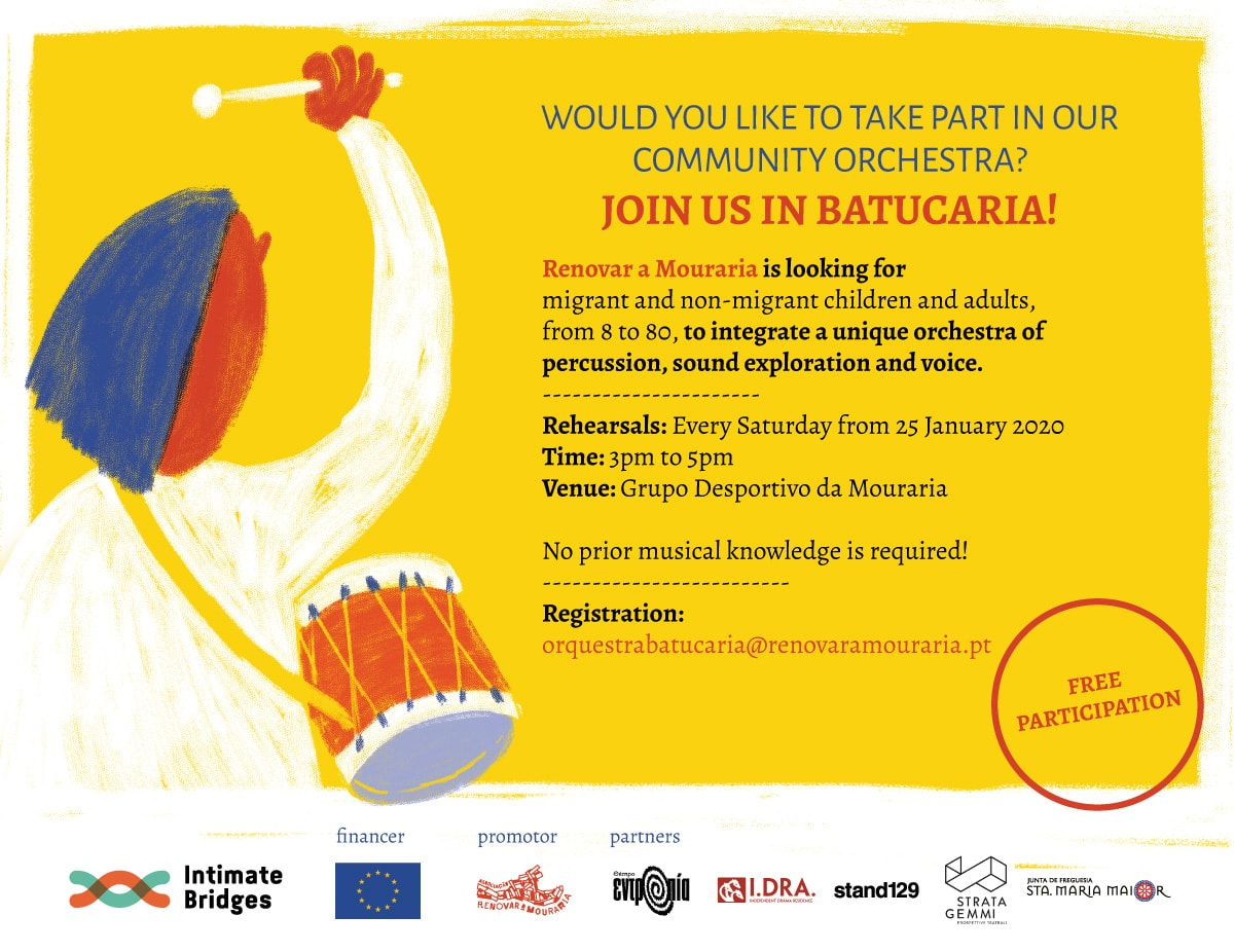 Batucaria Orchestra launches open call for a musical journey