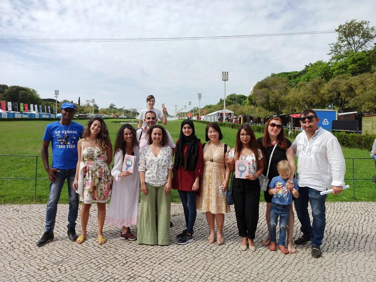 Literary magazine at Feira do Livro de Lisboa